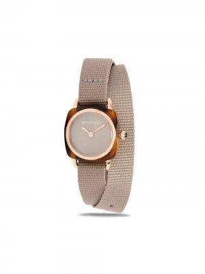 Наручные часы Clubmaster Lady 24 мм Briston Watches. Цвет: серый