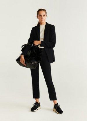 Костюмный пиджак - Gold Mango. Цвет: черный