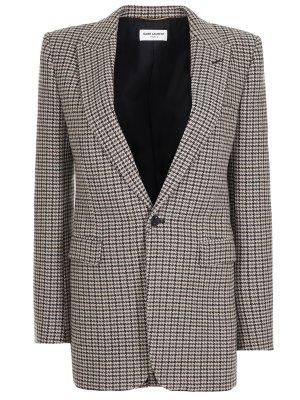 Пиджак шерстяной SAINT LAURENT