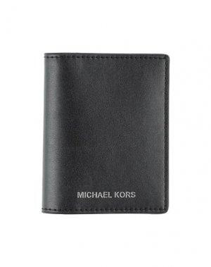 Чехол для документов MICHAEL KORS. Цвет: черный