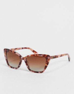 Солнцезащитные очки с узором lucca-Розовый цвет Kate Spade
