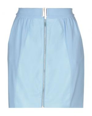 Мини-юбка BETTY BLUE. Цвет: лазурный
