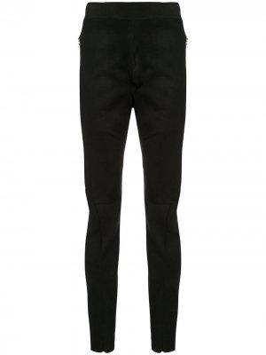 Классические брюки кроя слим Isaac Sellam Experience. Цвет: черный