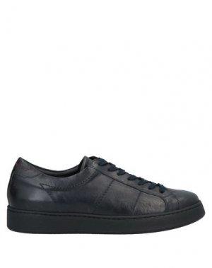 Низкие кеды и кроссовки BRUNO MAGLI. Цвет: темно-синий