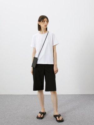 Набор из 2 футболок BASE GATE31. Цвет: белый + черный