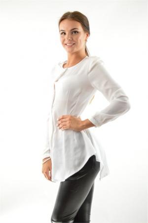 Блузка ACASTA. Цвет: белый