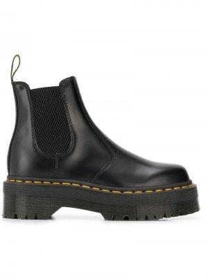Ботинки-челси Quad Dr. Martens. Цвет: черный