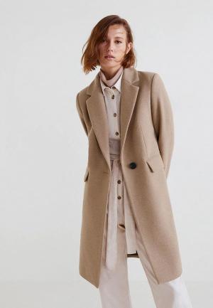 Пальто Mango - CITRUS4. Цвет: бежевый