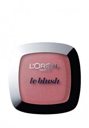 Румяна LOreal Paris L'Oreal для лица Alliance Perfect, Совершенное слияние, оттенок 120, Розовый сандал, 5 г. Цвет: розовый