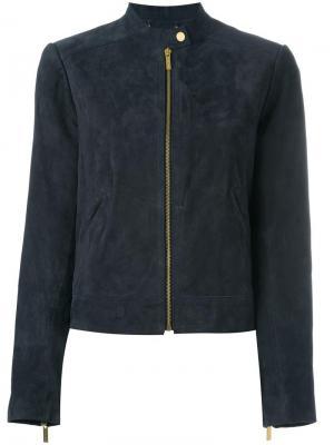 Куртка-бомбер на молнии Michael Kors. Цвет: синий