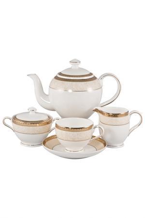 Сервиз чайный 17 пр, на 6 пер. Royal Porcelain Co. Цвет: золотой