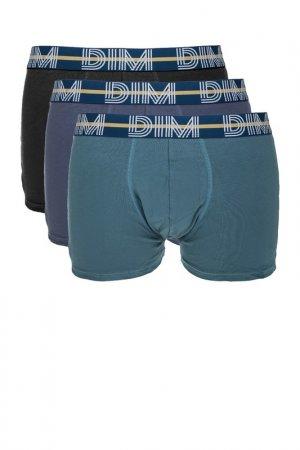Комплект трусов Dim. Цвет: бирюзовый, синий, черный