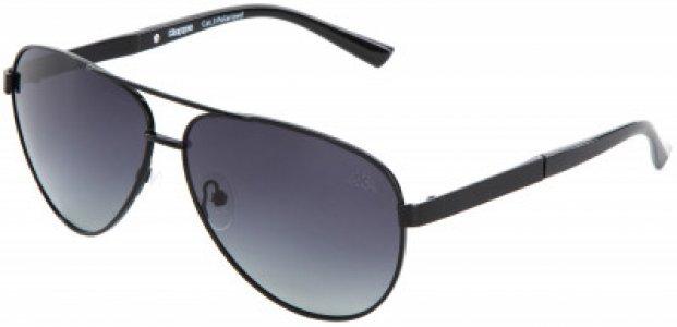 Очки солнцезащитные Kappa. Цвет: черный