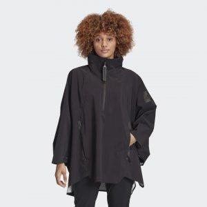 Плащ-дождевик MYSHELTER RAIN.RDY Performance adidas. Цвет: черный
