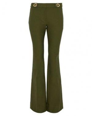 Повседневные брюки DEREK LAM 10 CROSBY. Цвет: зеленый-милитари