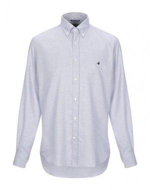 Pубашка BROOKSFIELD. Цвет: серый