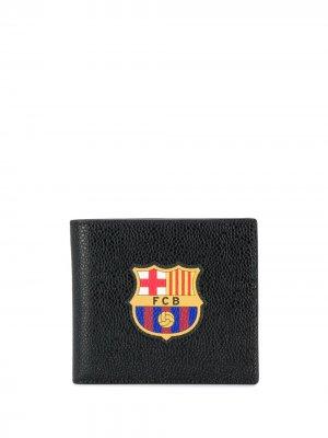 Бумажник FC Barcelona Thom Browne. Цвет: черный