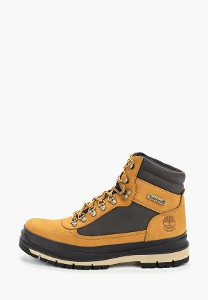 Тимберленды Timberland Field Trekker 91 WP Ins. WHEAT. Цвет: бежевый
