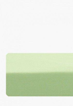 Простыня детская Dream Time 120х200 см. Цвет: зеленый