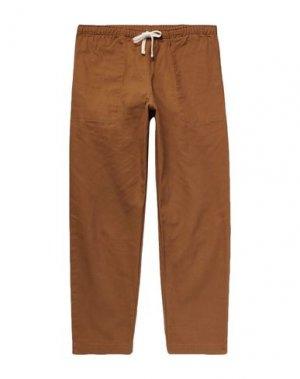 Повседневные брюки BATTENWEAR. Цвет: верблюжий