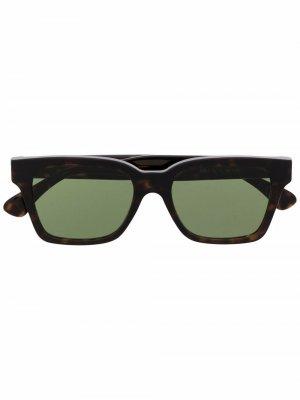 Square tortoise-shell sunglasses Retrosuperfuture. Цвет: коричневый