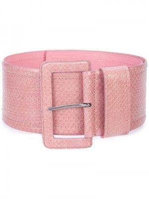 Ремень с пряжкой Carolina Herrera. Цвет: розовый