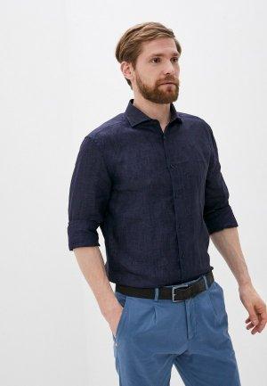 Рубашка CC Collection Corneliani. Цвет: синий