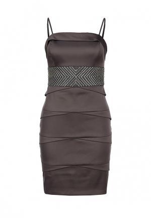 Платье Corleone. Цвет: серый