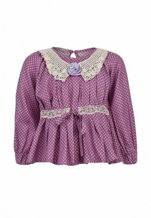 Блуза Gioia di Mamma GI639EGLE521. Цвет: фиолетовый