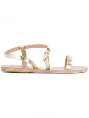 - Для нее Ancient Greek Sandals. Цвет: металлик