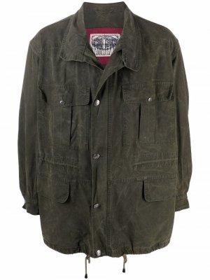 Куртка 1990-х годов с кулиской Gianfranco Ferré Pre-Owned. Цвет: зеленый