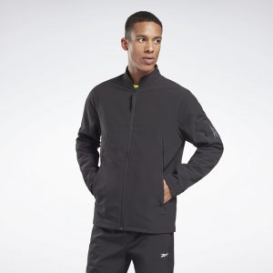 Куртка-бомбер rmowarm+Graphene Edgeworks Reebok. Цвет: black