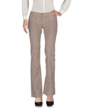Повседневные брюки HABITUAL. Цвет: голубиный серый