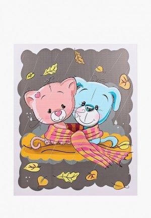 Картина Мастер Рио 40x50 см. Цвет: разноцветный