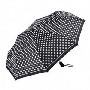Др.Коффер E411 1s2200 зонт жен. в горошек Dr.Koffer