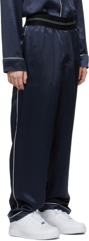 Navy Pajama Lounge Pants Helmut Lang. Цвет: admiral blue