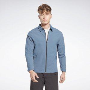 Спортивная куртка Utility Reebok. Цвет: brave blue