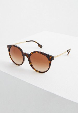 Очки солнцезащитные Burberry BE4296 300213. Цвет: коралловый