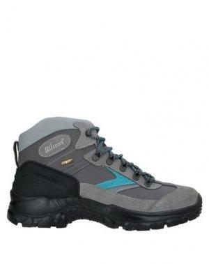 Полусапоги и высокие ботинки GRISPORT. Цвет: светло-серый