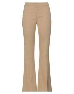 Повседневные брюки CLIPS MORE. Цвет: песочный