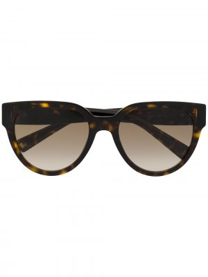 Солнцезащитные очки Givenchy Eyewear. Цвет: коричневый