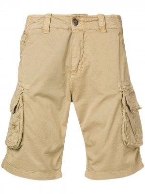 Классические шорты карго Alpha Industries. Цвет: нейтральные цвета