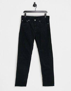 Прямые свободные джинсы Gus-Черный Dr Denim