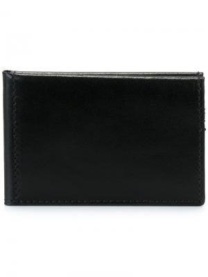 Классический бумажник Ann Demeulemeester. Цвет: чёрный