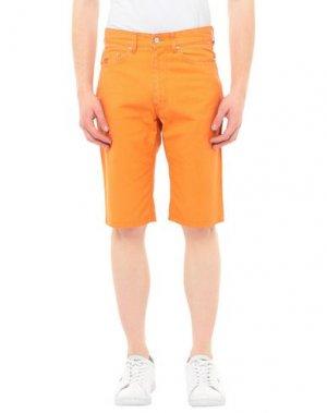 Бермуды HENRY COTTON'S. Цвет: оранжевый