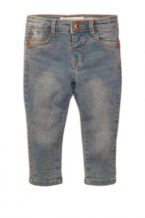 Брюки джинсовые Minoti. Цвет: голубой