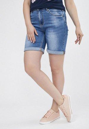 Шорты джинсовые Mossmore. Цвет: синий