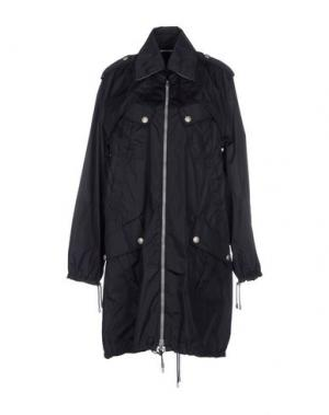 Легкое пальто HOGAN by KARL LAGERFELD. Цвет: темно-синий