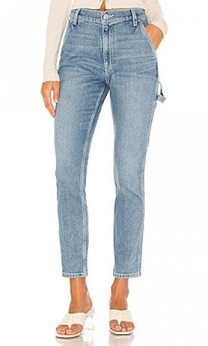 Прямой holly Hudson Jeans. Цвет: синий