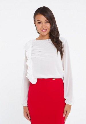 Блуза Eva. Цвет: белый